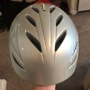 Giro ski helmet with goggles